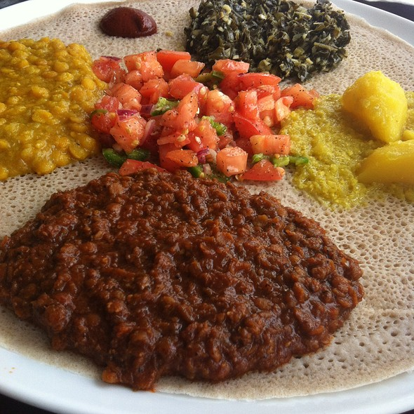 Vegetarian Sampler For Two - Ethiopic, Washington, DC