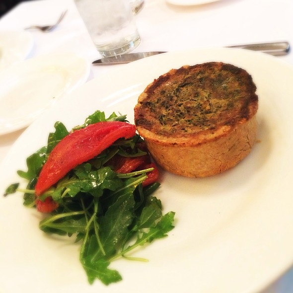 Spinach And Artichoke Quiche - The Odeon, New York, NY