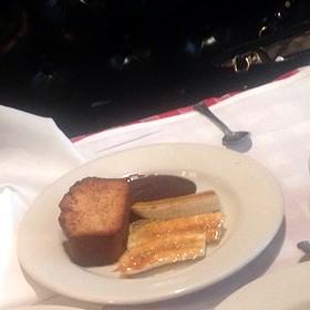 Nonna's Toasted Pound Cake & Caramelized Bananas