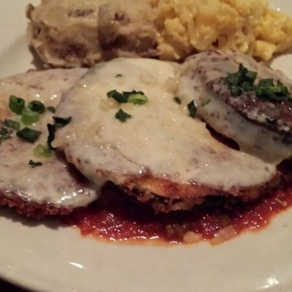 Eggplant Creole - Lucky 32 Southern Kitchen - Cary, Cary, NC