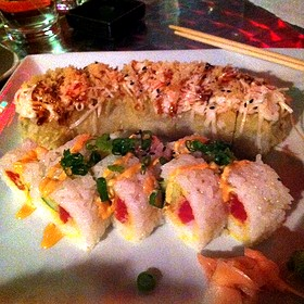 Yummy Yummy Roll And Spicy Tuna Tempura Roll - Kanpai - Sushi Asian Bistro, Evansville, IN