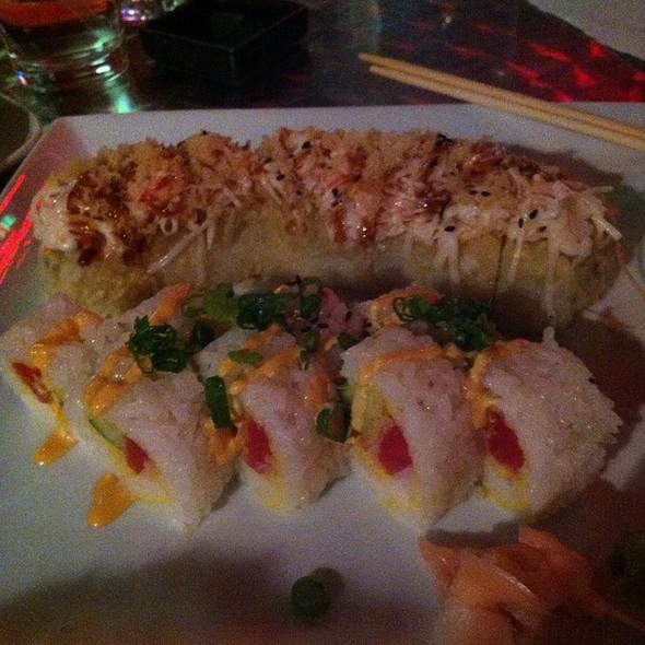 Yummy Yummy Roll And Spicy Tuna Tempura Roll - Kanpai - Sushi Asian Bistro, Evansville, IN
