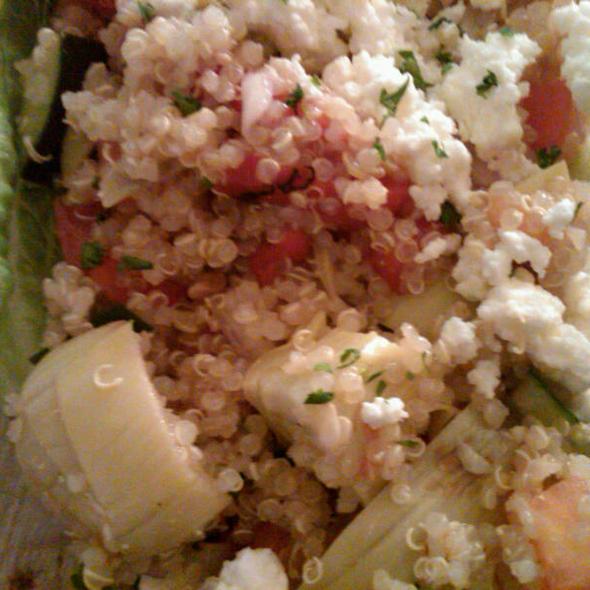 Quinoa Salad @ Baba's Mediterranean Kitchen