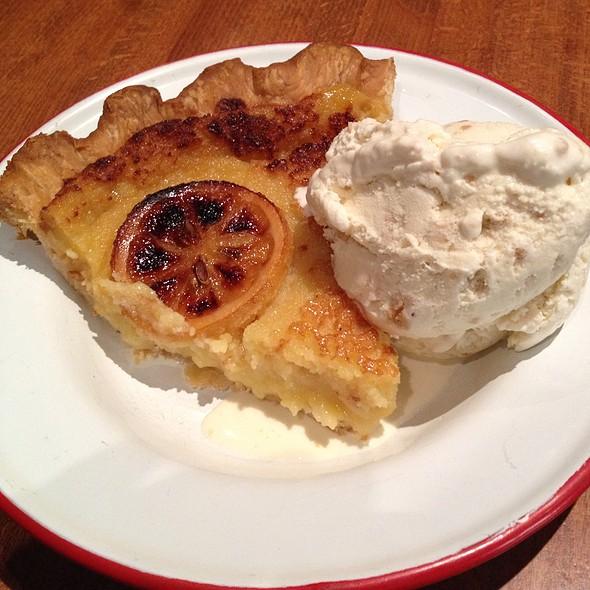 lemon buttermilk pie @ Chile Pies & Ice Cream