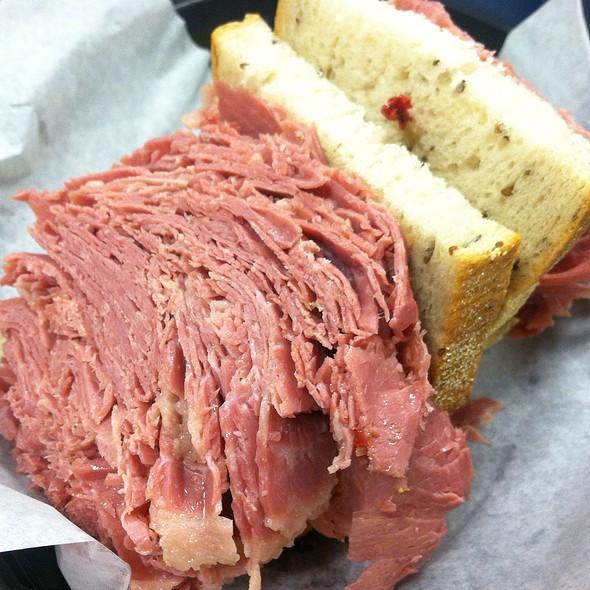 Jawbreaker Corned Beef Sandwich @ Danny's Deli & Restaurant