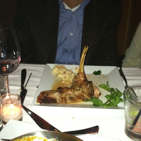 Veal Chop - Umbria Prime, Boston, MA