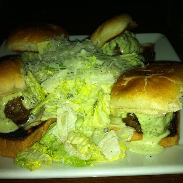 Meatball Sliders W Caesar Salad - TruFire Kitchen & Bar - Frisco, Frisco, TX