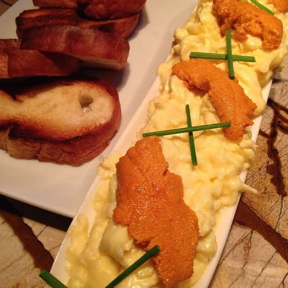 Uni With Scrambled Eggs @ Four Seasons Hotel San Francisco