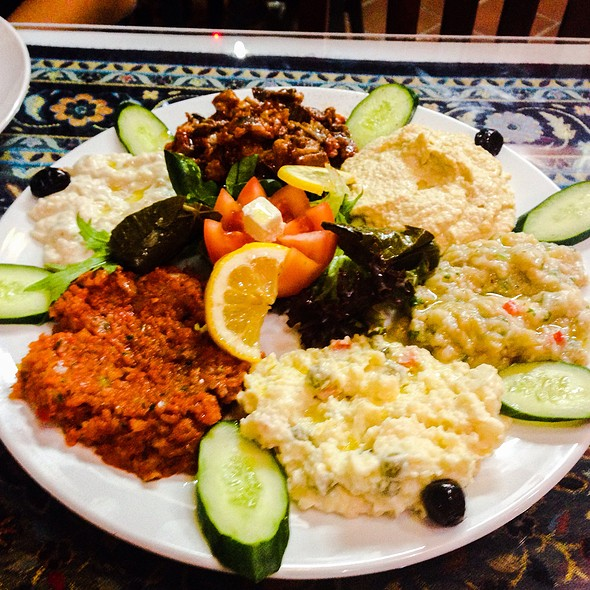 Cold Mezze Platter