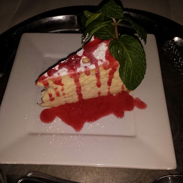 New York Cheesecake - Sur Restaurant, West Hollywood, CA