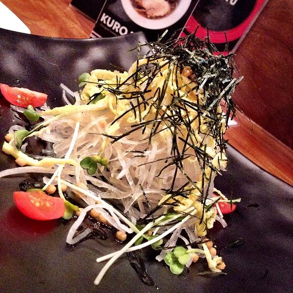 Daikon & Egg Salad