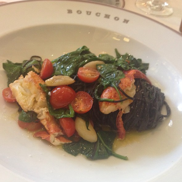 Squid Ink Tagliatelle With Lobster