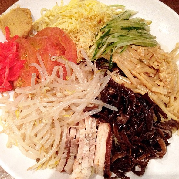 Cold noodles (Hiyashi Chuka)