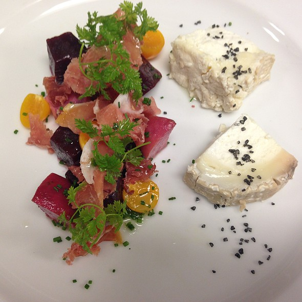 heirloom beets: - Final Cut Steakhouse - Hollywood Casino at Penn National Race Course, Grantville, PA