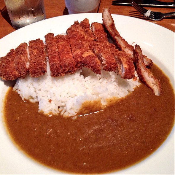 Japanese Curry Rice With Pork Cutlet