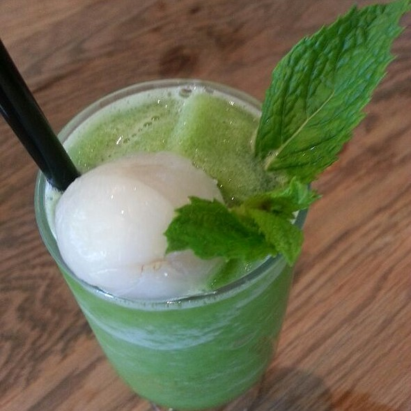 Lychee And Fresh Mint Drink @ Din Tai Fung Restaurant