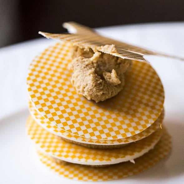 Peanut Butter, White Chocolate, Caramel Ice Cream - Nob Hill Club at the Mark Hopkins, San Francisco, CA