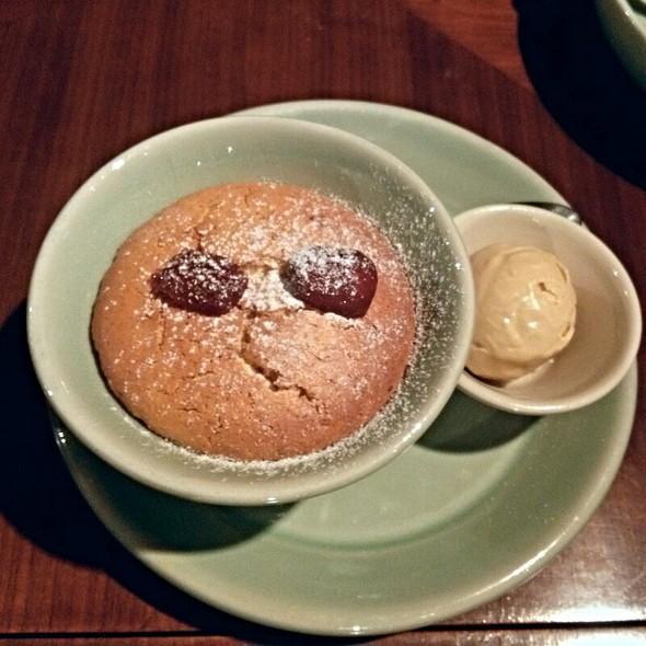 Red Date Clafoutis With Jasmine Tea Ice Cream  @ Sha Tin 18 沙田18
