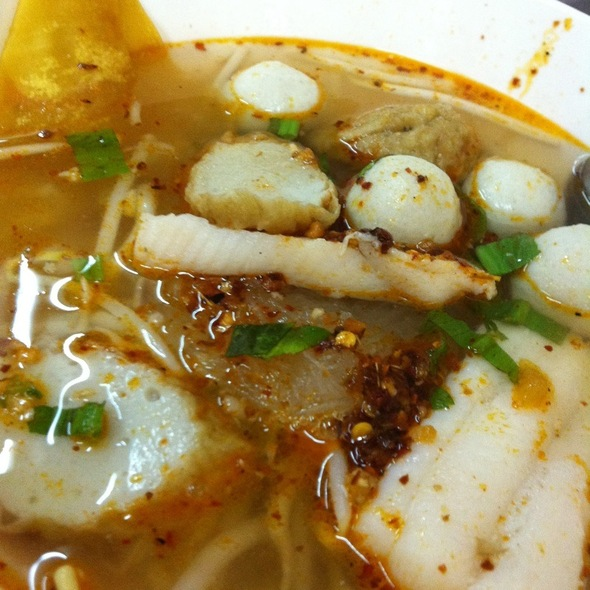 Glass Noodle In Tom Yum Soup