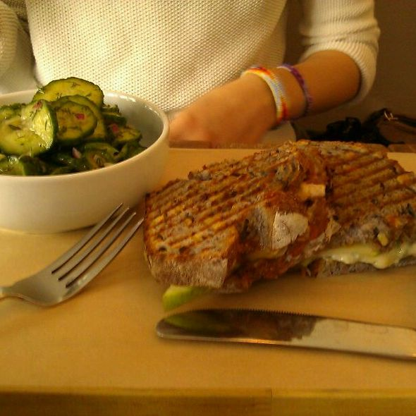 Roast Turkey & Brie Sandwich @ Food Lab