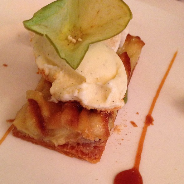 Apple tart - Circo, New York, NY