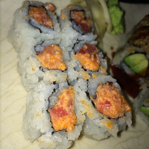 Spicy Tuna Roll - Sushi Yasaka, New York, NY