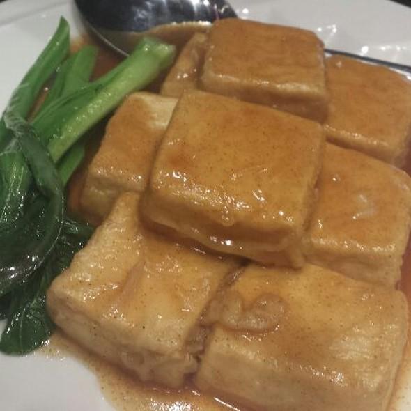 Braised Tofu With Shrimp Roe