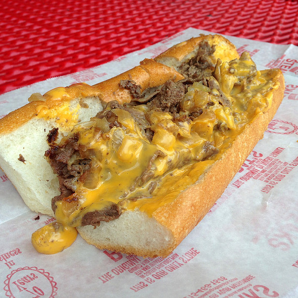 Philly Cheesesteak (Whiz Wit)