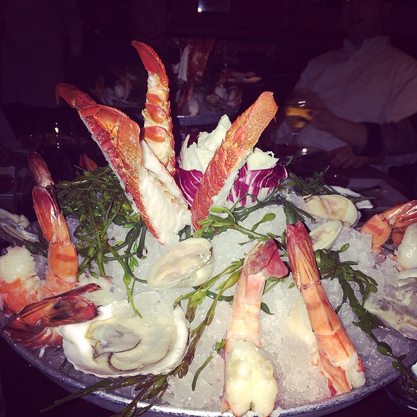 Crab, Shrimp And Oysters - Old Homestead Steakhouse- New York City, New York, NY