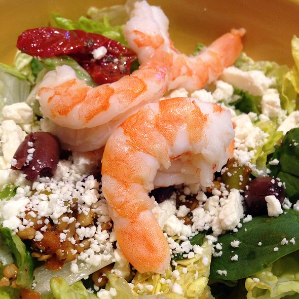 Mediterranean Shrimp Couscous Salad @ Panera Bread
