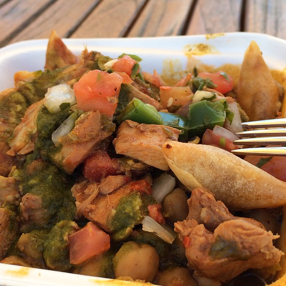 Deconstructed Somosa @ Curry Up Now