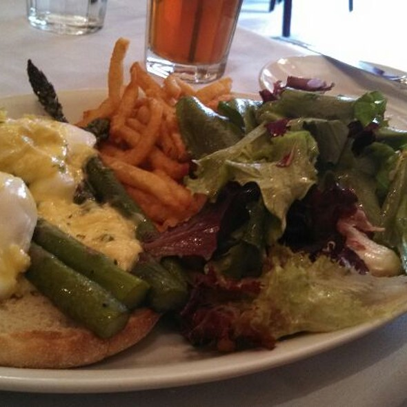 Asparagus Salad With Poached Egg - Vin Rouge, Durham, NC