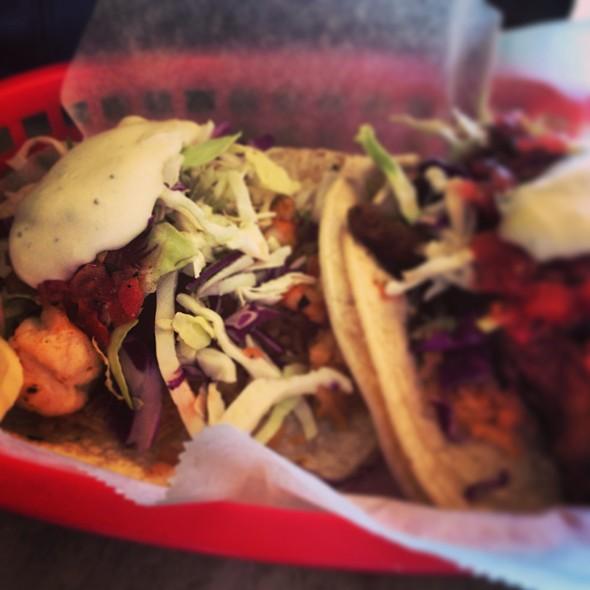 Shrimp Taco And Fish Taco @ La Familia Taqueria