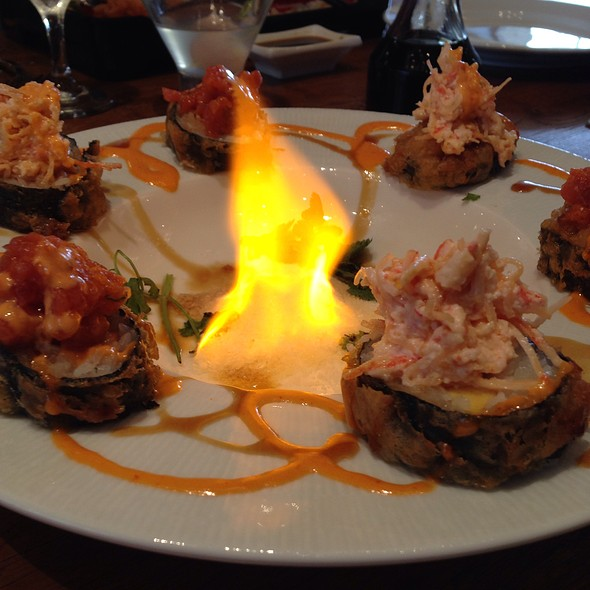 Flaming Volcano @ Fish And The Knife