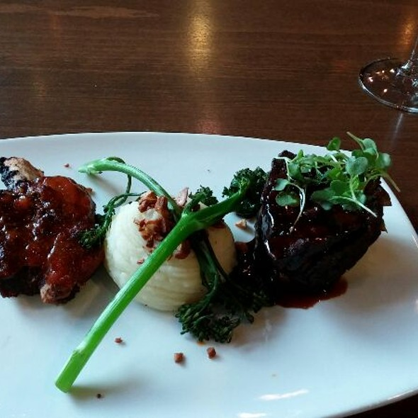 Beef Short Rib & Bison Baby Back Rib Duo