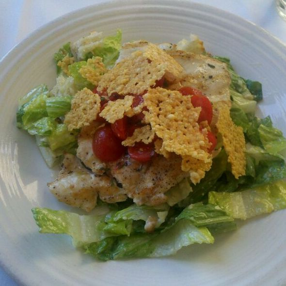 Grilled Chicken Paillard Salad - Rancho Pinot, Scottsdale, AZ