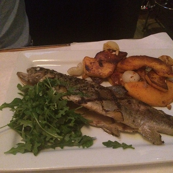 Grilled Whole Colorado Trout - Jax Fish House and Oyster Bar- LoDo, Denver, CO