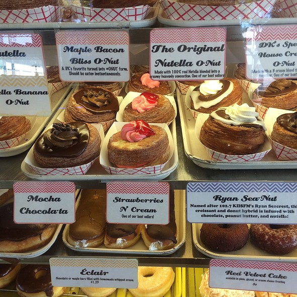 Cronuts @ DK's Donuts & Bakery