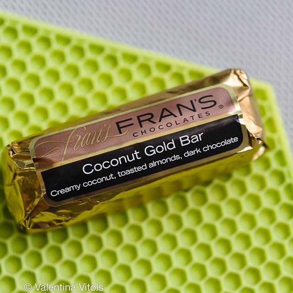 Coconut Gold Bar @ Fran's Chocolates