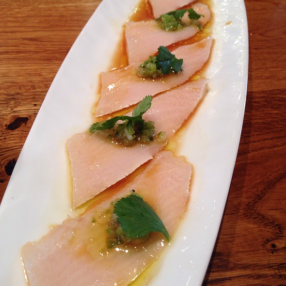 Yuzu Yellowtail @ Fish And The Knife