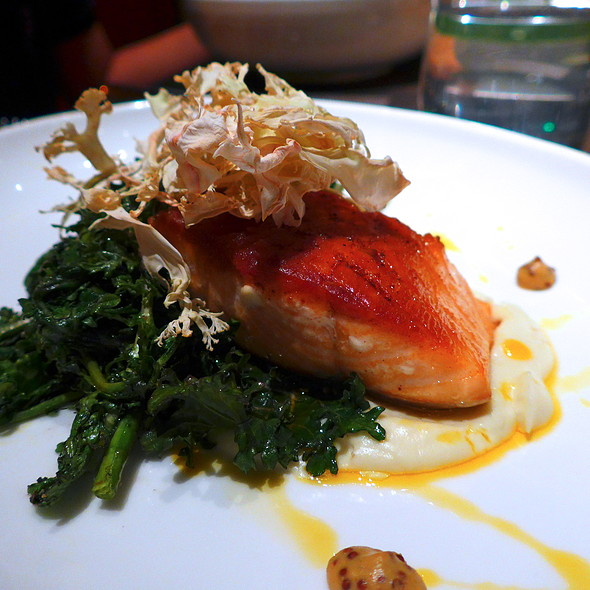 Roasted Salmon - Core Kitchen and Wine Bar at The Ritz-Carlton Dove Mountain, Marana, AZ
