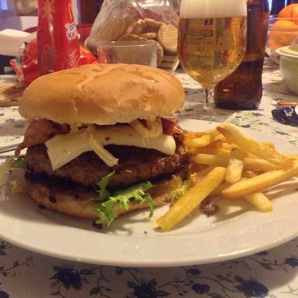 Homemade Hamburger @ Home