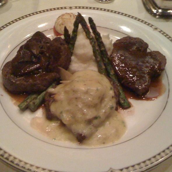 Trio Of Filet - Duane's Prime Steaks & Seafood Restaurant, Riverside, CA