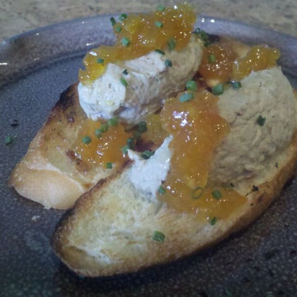 Local Chicken Liver Mousse @ The Night Owl Cafe