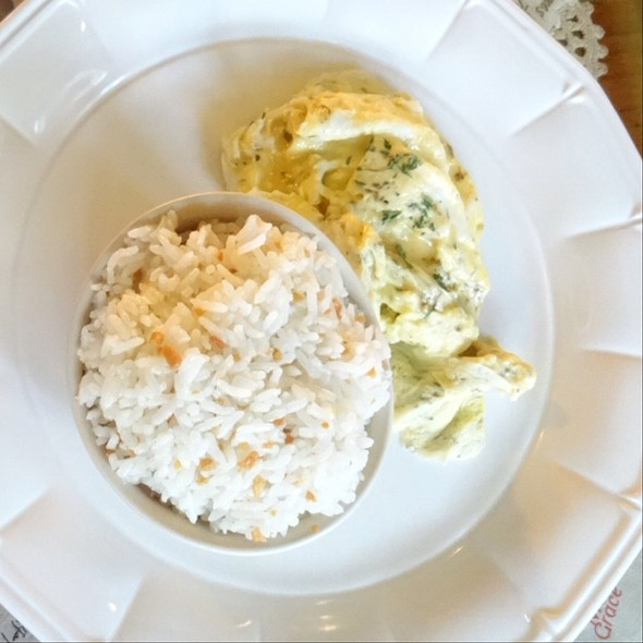 Italian Herbs Scrambled Eggs And Garlic Rice