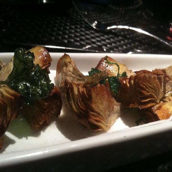 Fried Artichokes @ Bibiana Osteria-Enoteca