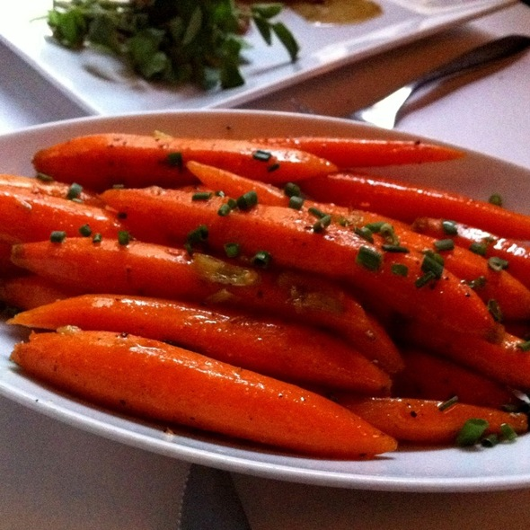 Steamed Carrots - Umbria Prime, Boston, MA