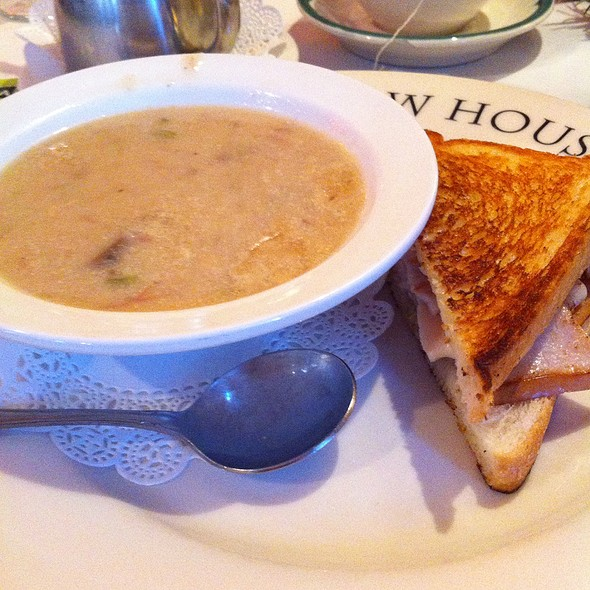 Turkey Melt And Chicken Chardonnay Soup - Mother in Law House, St. Charles, MO