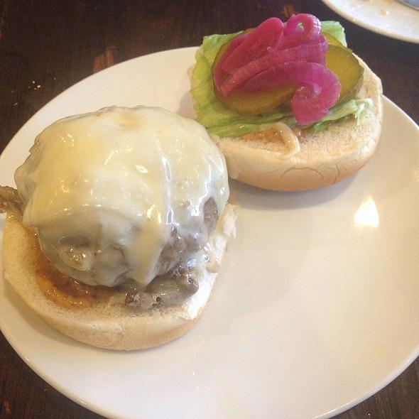Hamburguesa con queso @ Toro