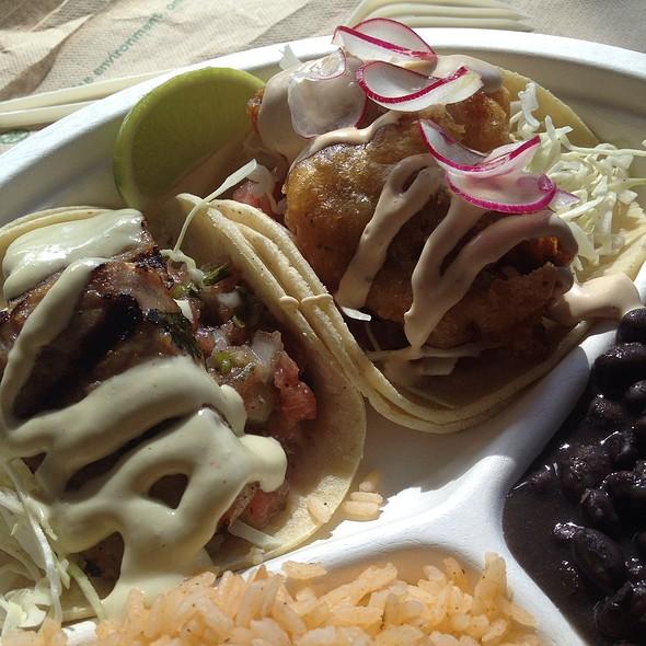 Dorado Fish Tacos @ DORADO Tacos & Cemitas